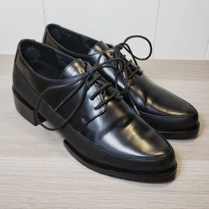 & Other Stories Black Lace Up Loafers